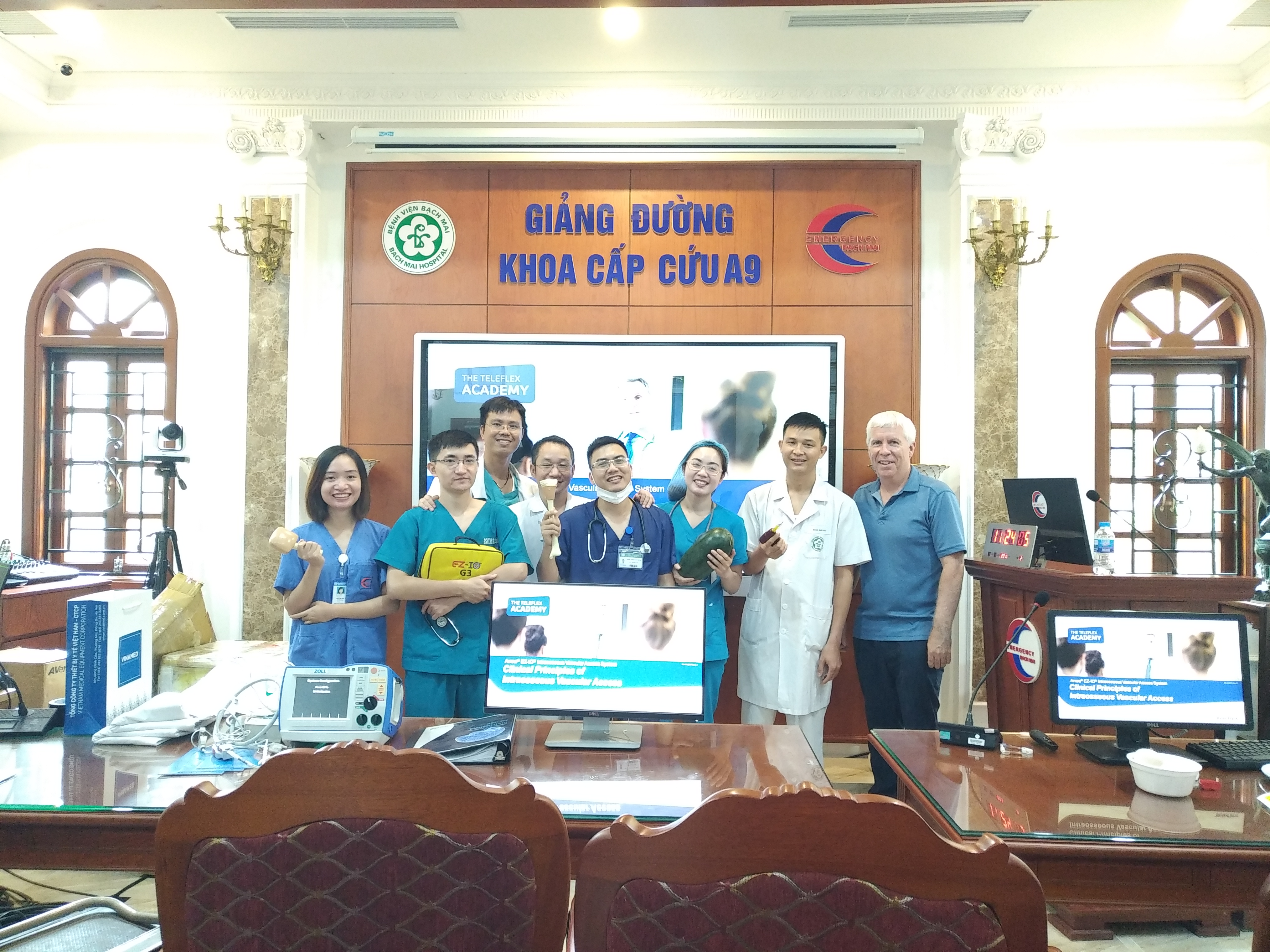 We are proud to support IO training at Bach Mai Hospital in Hanoi, Vietnam with our donation of EZ-IO equipment